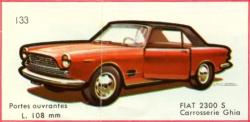 Fiat 2300S Cabriolet by Solido