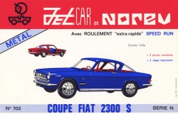 Fiat 2300S Cabriolet by Norev