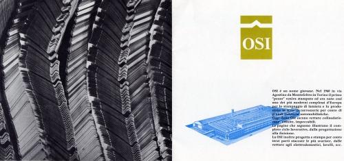 1964 OSI Company Profile Brochure