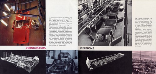 There aren't many photographs available of the Fiat 2300 S under construction but following is a selection of what has been found.