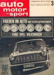 Auto, Motor und Sport (AMS) - Fiat 2300 S Coupe