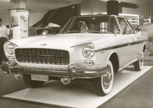 Vignale Fiat 2100 Coupe 1959 Enplain