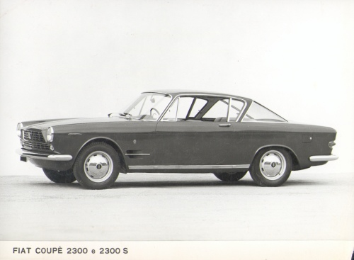 Fiat 2300 S Coupe Press Photo