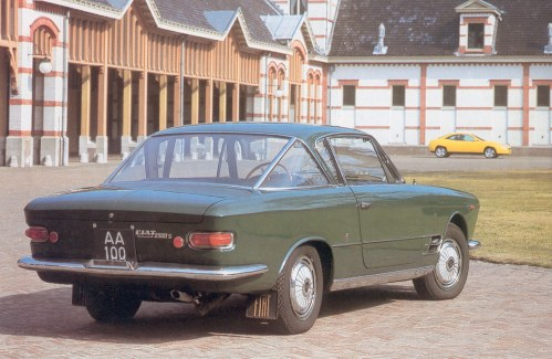 Fiat 2300 S Coupe Prince Claus of the Netherlands