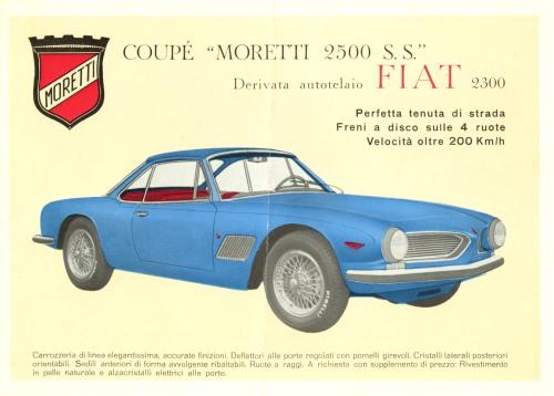 Moretti 2500 SS Coupe 1964