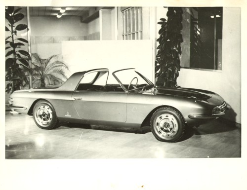 Pininfarina Fiat 2300 Cabriolet Speciale 2 Posti 1963