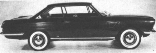 Savio Fiat 2100 Coupe 1962